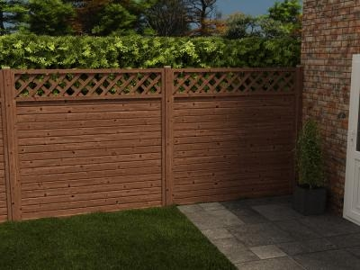 Alps Full Fence Panel