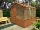 Fennelmere™ Left Potting Shed W2.44m x D2.44m