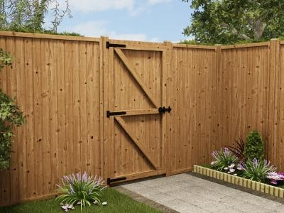 Grooved Straight Top Gate