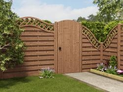 Grooved High Arched Top Gate