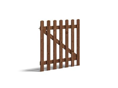 Tall Picket Gate