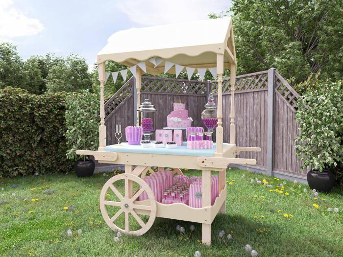 Portobello Static Candy Cart | Decorative furniture