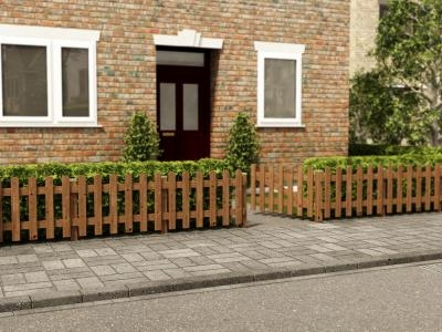 Pennines Half Picket Fence