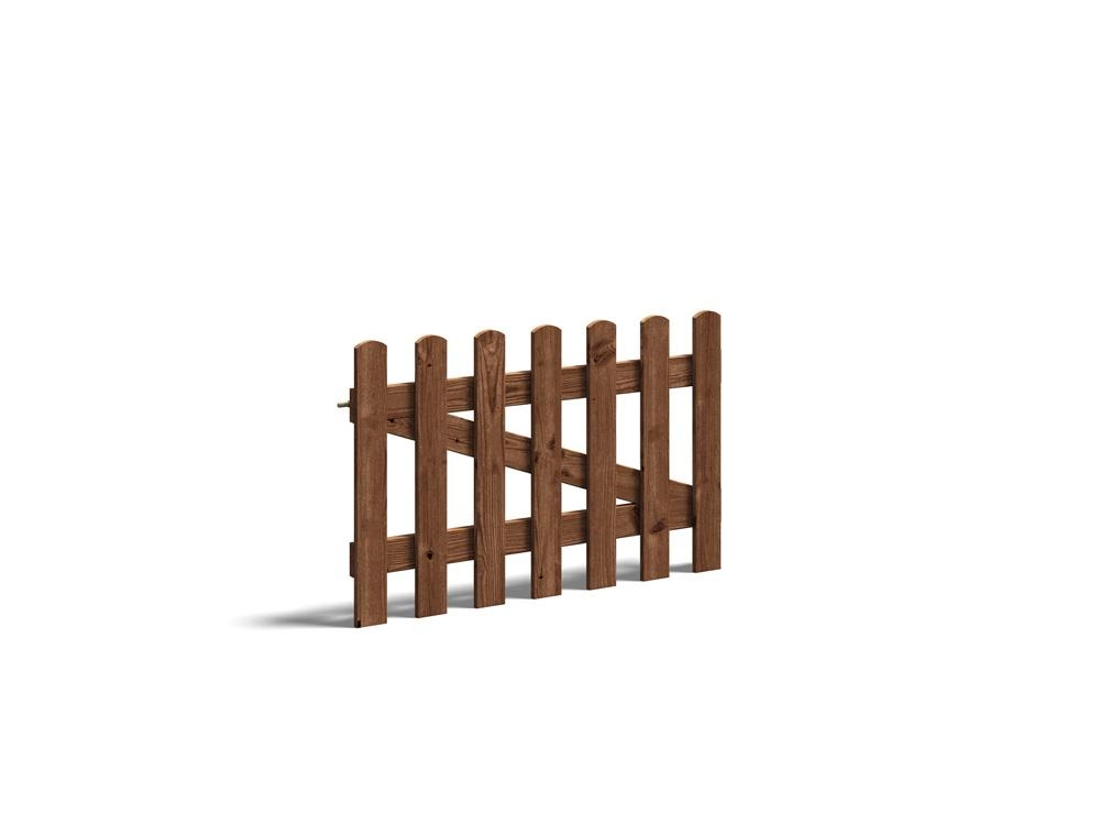 Short Picket Gate