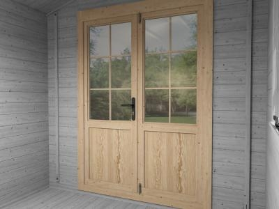 Single Glazed Doors Included | Extras