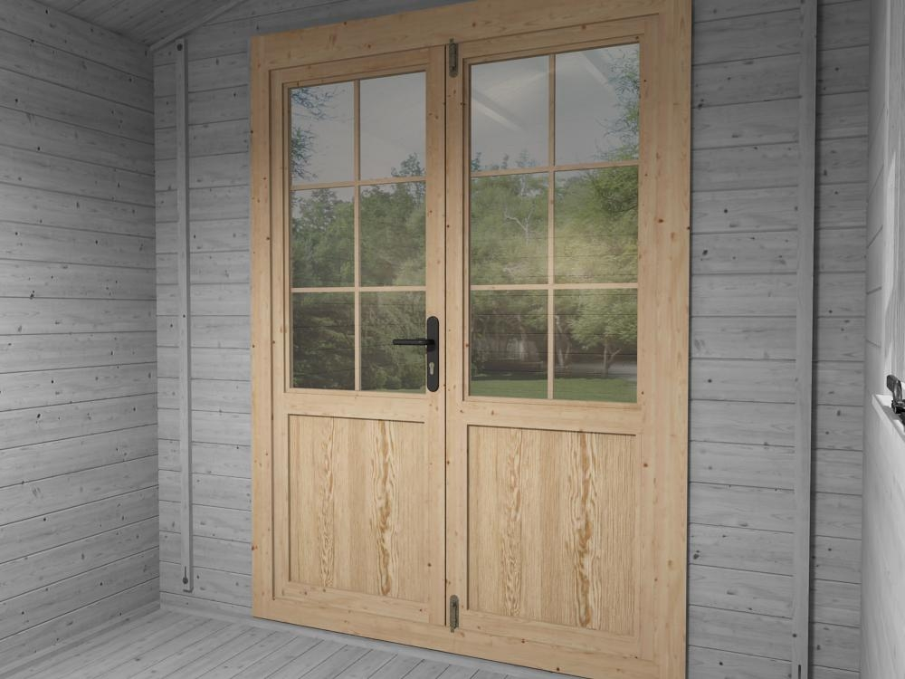 Single Glazed Doors Included
