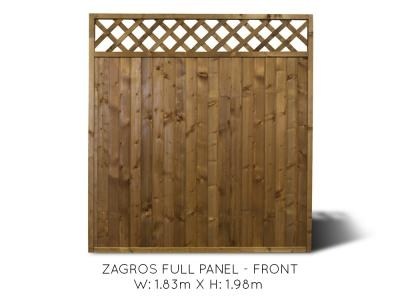 Zagros Full Fence Panel