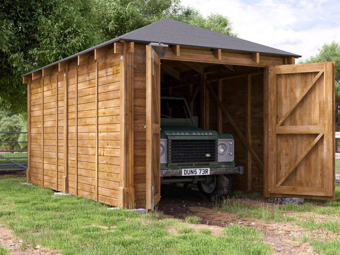 Artemis Single Garage Inc. Barn Doors   Garages