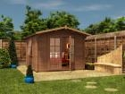 Pressure Treated Avon Log Cabin W3.0m x D3.0m