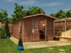Pressure Treated Avon Log Cabin W3.0m x D5.0m