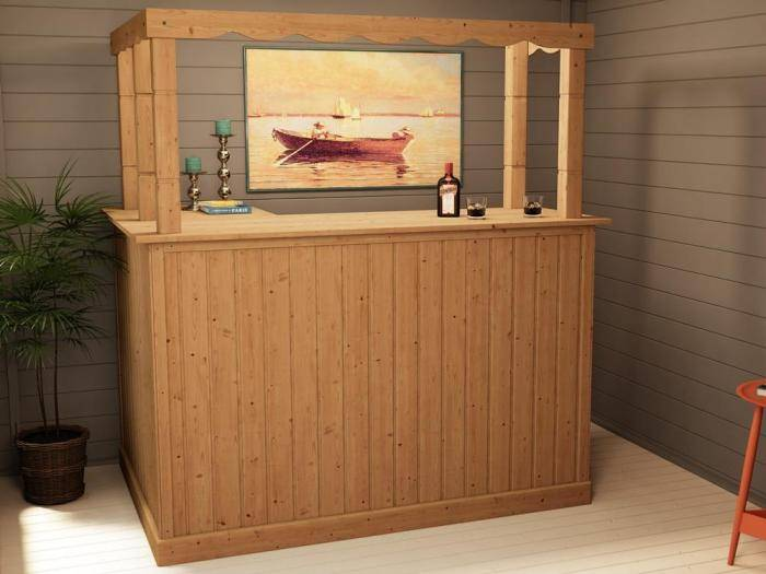 Cabin Corner Bar | Extras | Dunster House