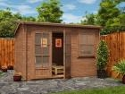 Pressure Treated Carsare Log Cabin W3.5m x D3.5m