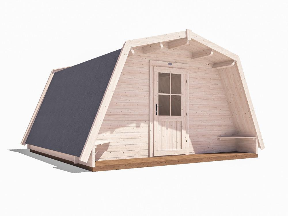 x10 Insulated Glamping Cocoons W4.0m x D4.0m