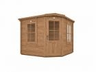 Pressure Treated Coronet Log Cabin W2.5m x D2.5m