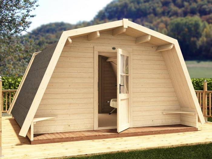 x3 Glamping Cocoons W4m x D4m | Dunster House