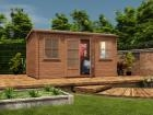 Pressure Treated Lantera Log Cabin W4.5m x D2.5m