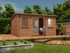 Pressure Treated Lantera Log Cabin W4.5m x D3.5m
