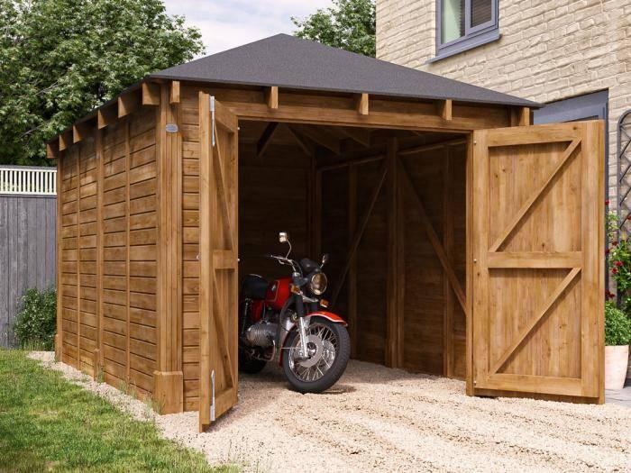 Olympus Single Garage Inc. Barn Doors | Garages