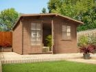 Pressure Treated Rhine Log Cabin W4.0m x D4.0m