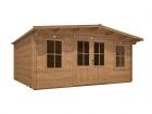 Pressure Treated Severn Log Cabin W5.0m x D4.0m
