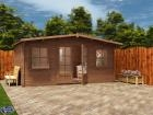 Pressure Treated Severn Log Cabin W5.0m x D3.0m