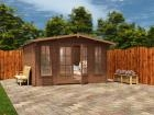 Pressure Treated Severn Log Cabin W4.0m x D3.0m