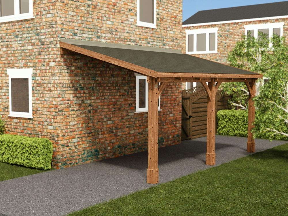 Zeus Lean to Carport W2.6m x D5.0m