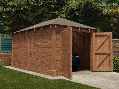 Artemis Single Garage Inc. Barn Doors | Garages
