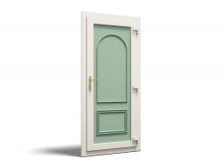 Chartwell Green UVPC Door Panel