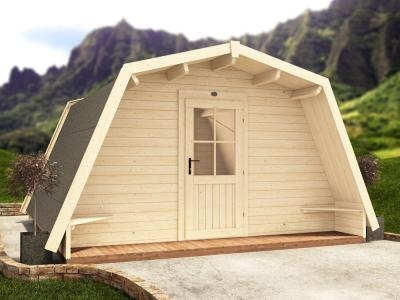 x6 Insulated Glamping Cocoons W4.0m x D4.0m