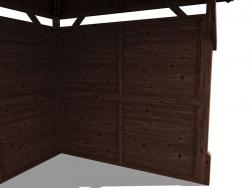 1.0m Wide Full Height Panel