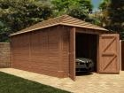 Thatched Hercules Single Garage W3.2m x D6.04m