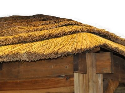 Thatched Olympus Single Carport W4.27m x D4.27m