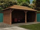 Thatched Atlas Double Carport W6.0m x D3.2m