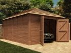 Thatched Hercules Single Garage W4.2m x D6.0m