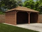 Thatched Olympus Double Carport W6.0m x D4.2m