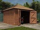 Thatched Olympus Single Garage W4.27m x D4.27m