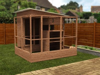 Rabbitopia With Shed W2.5m x D3.06m