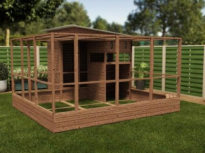 Rabbitopia With Shed W3.5m x D4.06m