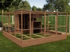 Rabbitopia With Shed W3.5m x D5.06m