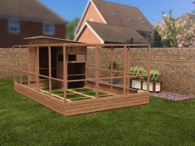 Rabbitopia With Shed W3.0m x D6.06m