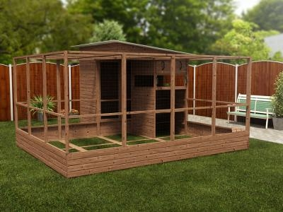 Rabbitopia With Shed W4.0m x D4.06m