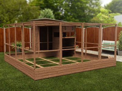 Rabbitopia With Shed W4.0m x D5.06m