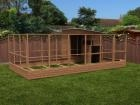 Rabbitopia With Shed W6.0m x D4.06m