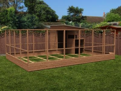 Rabbitopia With Shed W6.0m x D5.06m