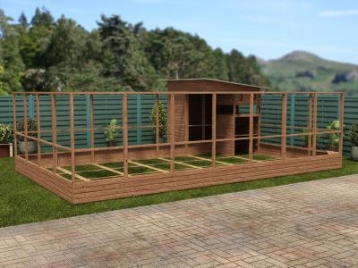 Rabbitopia With Shed W7.0m x D5.06m