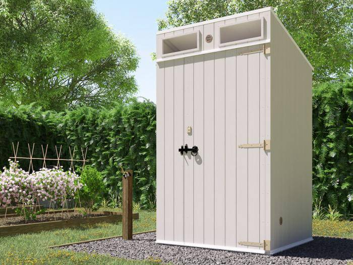 Composting Arctic Toilet MKII | Dunster House