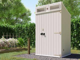 Composting Arctic Toilet MKII