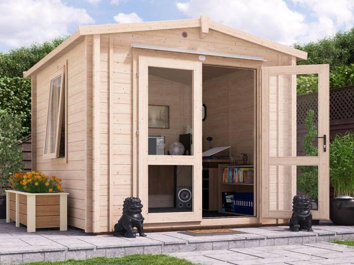 Avon Insulated Log Cabin W2.8m x D3.0m | Log Cabins