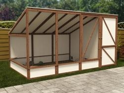 Bunnery Shed W3.66m x D1.85m